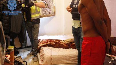 Doce detenidos en Palma en una batida contra los clanes nigeriano y dominicano de venta de drogas