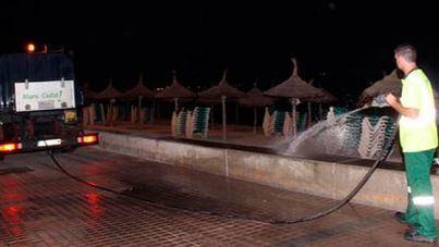 40 operarios y 25 vehículos conforman el dispositivo especial de Emaya por Sant Joan