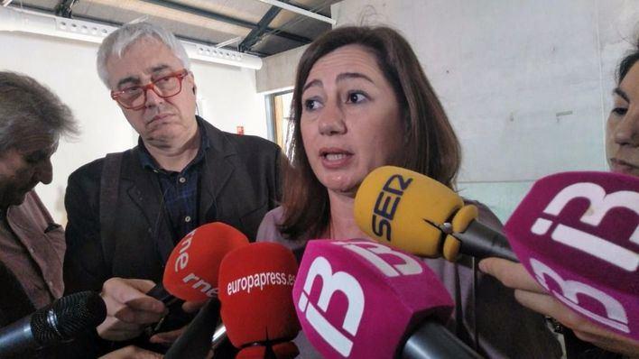 Armengol no renuncia a negociar la nueva financiación y culpa al PP del retraso