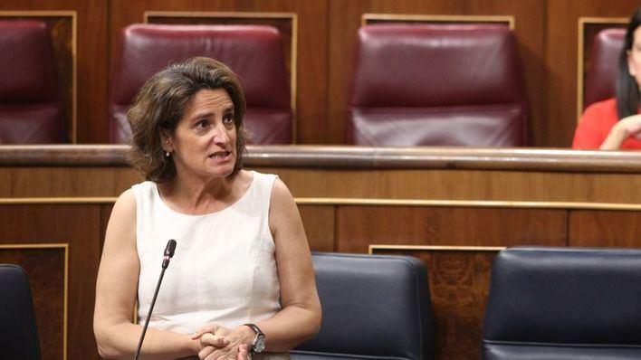 La ministra Ribera avala las leyes de residuos y cambio climático de Balears