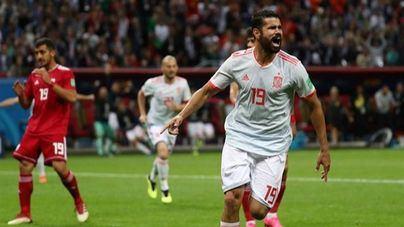 Carambola de Costa para ganar a Irán en el debut de Asensio en el Mundial
