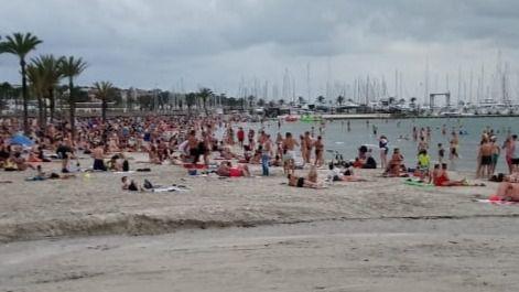 La Policía de Llucmajor recupera 4.500 euros robados a turistas en la playa de s'Arenal