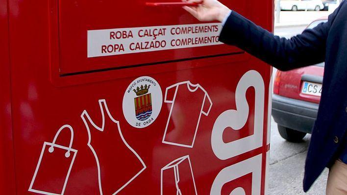 Cáritas, Emaya y Deixalles recogen 752 toneladas de ropa en Palma
