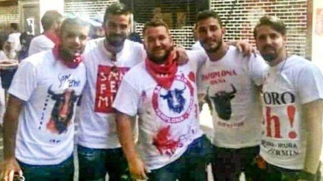 Libertad provisional para 'La Manada' bajo fianza de 6.000 euros