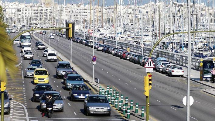 'Peatones en lucha' exige a Cort que limite de velocidad en Palma a 30 kilómetros por hora