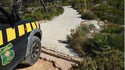 Imagen de un camino hormigonado de La Trapa difundida por Agencia de Defensa del Territorio