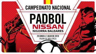 Palma acoge el Campeonato Nacional de Padbol 2018 'Nissan Nigorra Baleares'