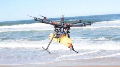 El dron de Salvamento Marítimo que lanza salvavidas actuará en Mallorca