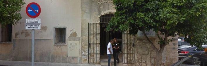Sede del Juzgado de Manacor donde ha comparecido la conductora detenida