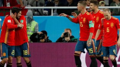 España empata ante Marruecos y queda primera de grupo