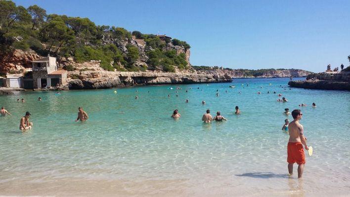 Sol y calor este martes en Mallorca