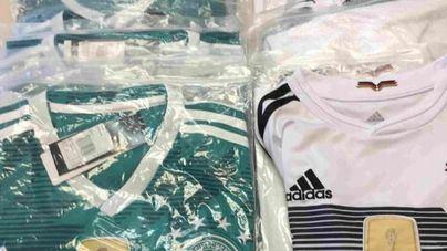 Aumenta la venta de camisetas falsificadas en Calvià por el Mundial