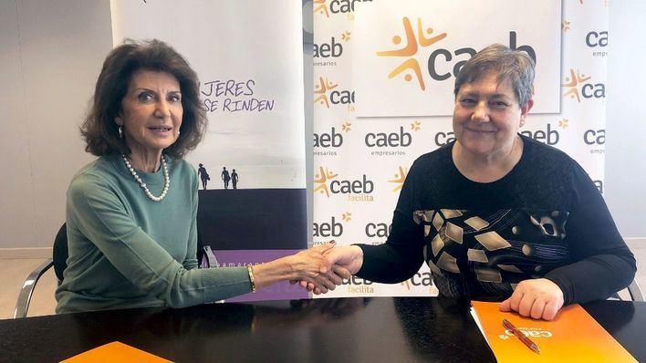 CAEB y Amaranta suscriben un acuerdo de inserción laboral para personas con vulnerabilidad social