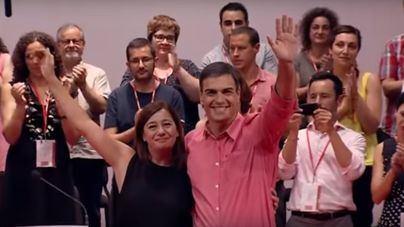 """Armengol pide """"celeridad"""" en el descuento de residentes y viajará a Madrid con el presidente canario"""