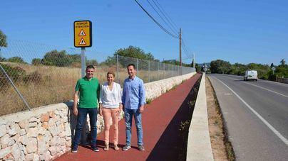 Santanyí instalará luz en el carril bici que va de Cala d'Or a Calonge
