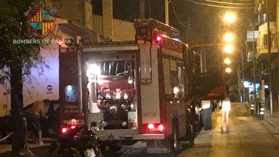 Incendio de madrugada en el Hotel Nautic de Can Pastilla