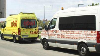 Un motorista es estado crítico tras sufrir un accidente en Ibiza