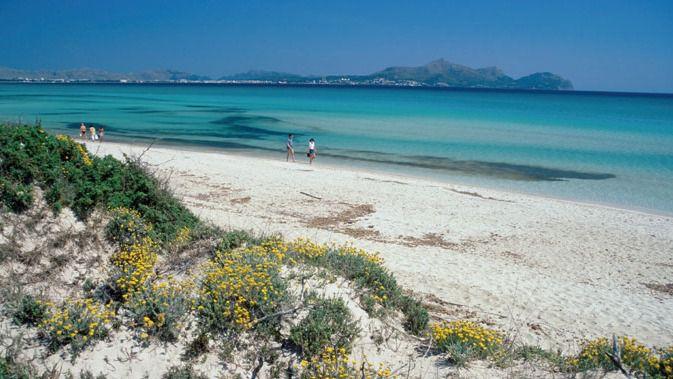 Playa de Muro, la tercera mejor playa española para ir con niños