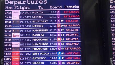 600 vuelos con salida o destino Balears podrían verse afectados por la huelga de controladores