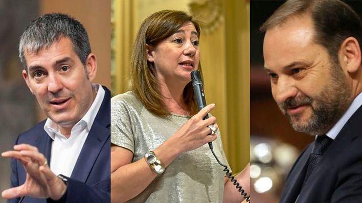 Armengol y Clavijo viajarán a Madrid para tratar con el ministro Ábalos la bonificación del 75%