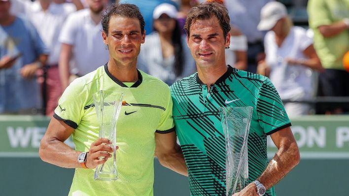 Nadal y Federer, diez años después