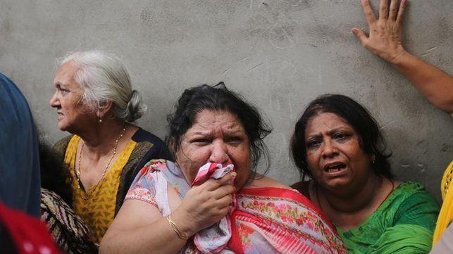 La Policía halla 11 cadáveres en una casa de Nueva Delhi colgados y con los ojos vendados