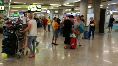 253.557 pasajeros circulan por los aeropuertos de Balears este domingo en la 'Operación salida'