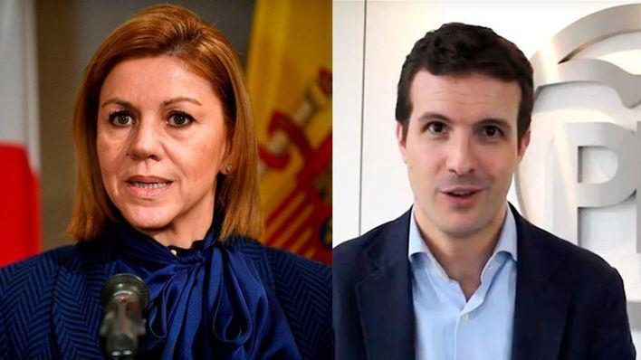 Cospedal y Casado visitan Palma para presentar su precandidatura a la Presidencia nacional del PP