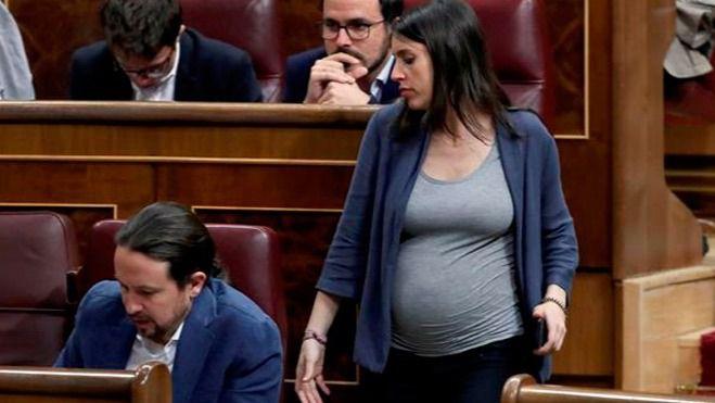 Irene Montero y Pablo Iglesias, padres de mellizos nacidos prematuros