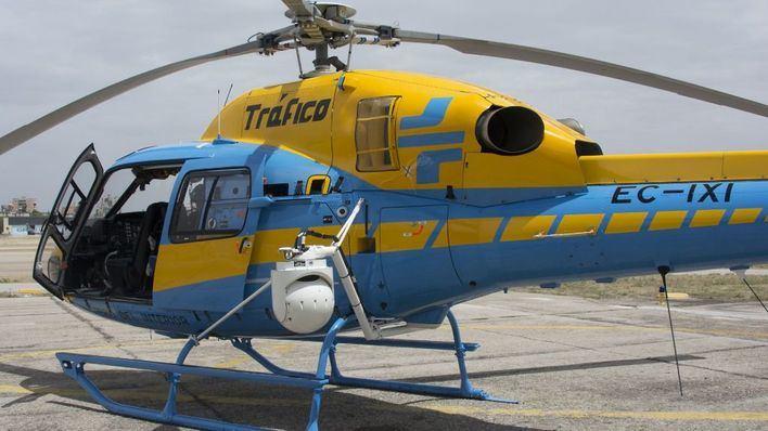 El helicóptero 'Pegasus' vigilará las carreteras de Balears