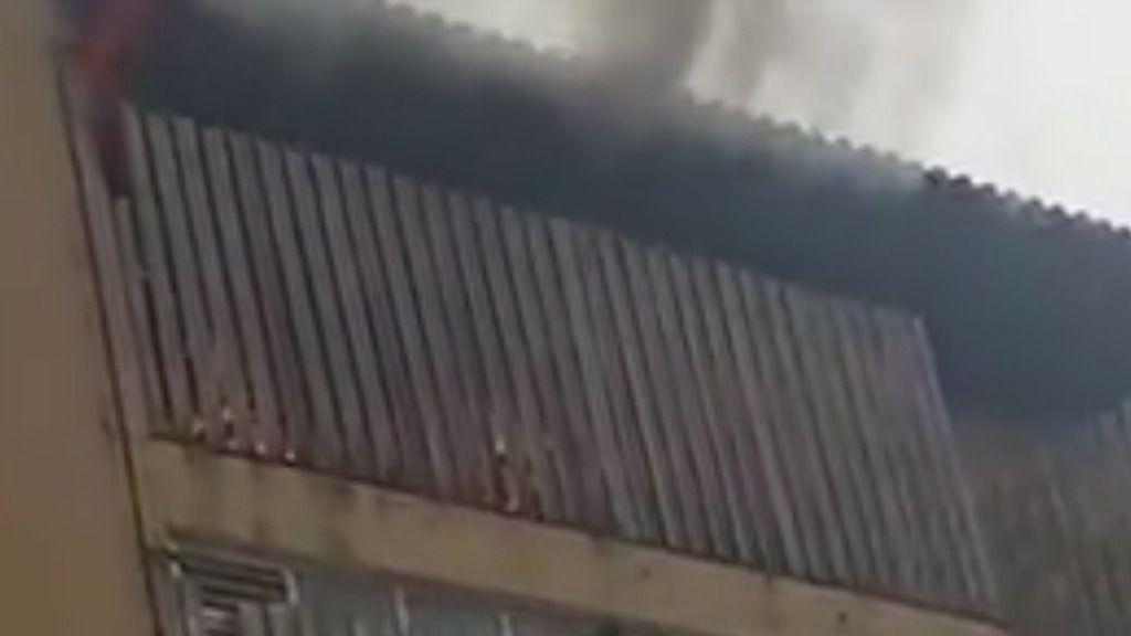 Desalojan un edificio en Sa Indiotería por un incendio