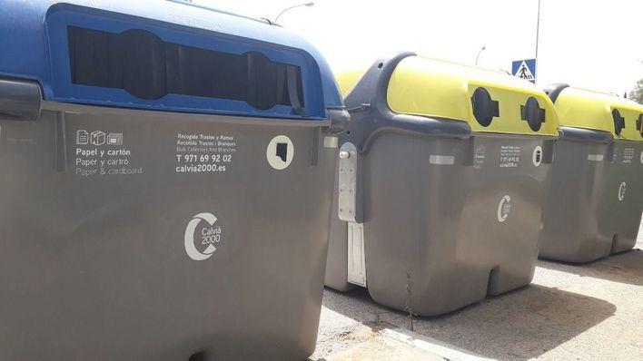 Calvià 2000 renueva los contenedores de la urbanización Galatzó