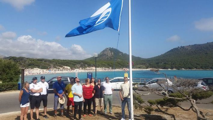 Capdepera obtiene cuatro banderas azules en sus playas