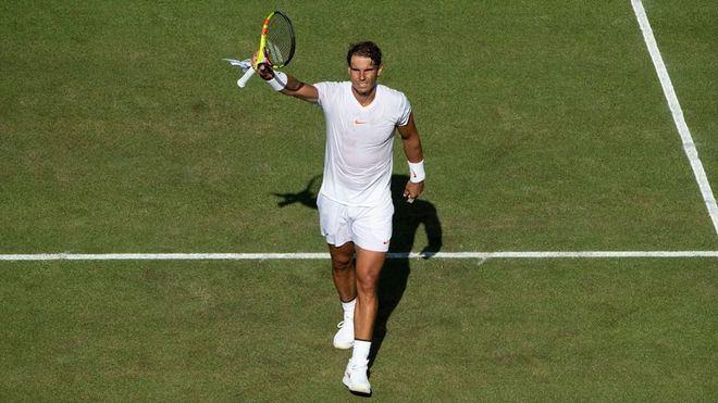 Nadal supera a Kukushkin y se cita en tercera ronda de Wimbledon con Minaur