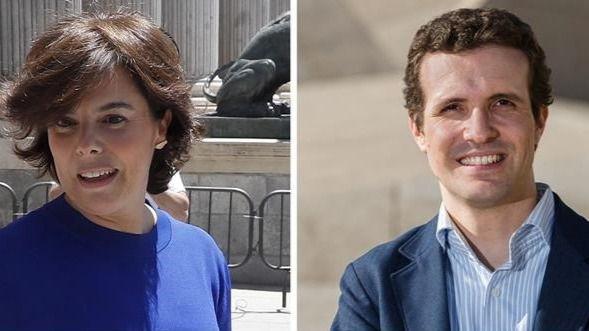 Sáenz de Santamaría gana a Casado por 1.546 votos y se disputarán el liderazgo del PP