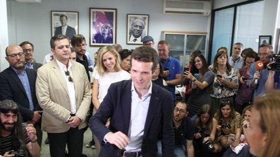 Pablo Casado obtiene el 46 por ciento de los votos del Partido Popular de Balears