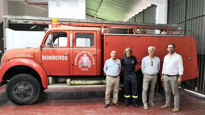 Bomberos Sin Fronteras vuelve al Antiguo Parque de Bomberos ASIMA