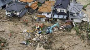 Ascienden a 38 muertos y 50 desaparecidos por las inundaciones de Japón