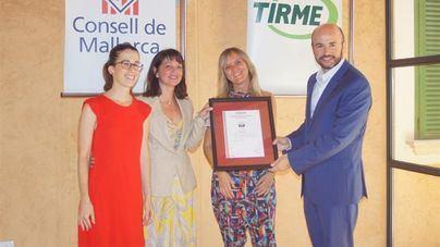 Tirme, primera empresa balear con el certificado de 'buen gobierno'