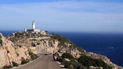 Cortan a partir del lunes la carretera para acceder al faro de Formentor