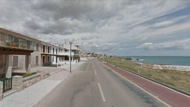 Preparan una nueva normativa vial en la carretera de Sa Ràpita donde fue atropellada la menor