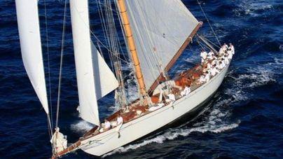 El legendario 'Moonbeam IV' competirá por primera vez en aguas de Palma