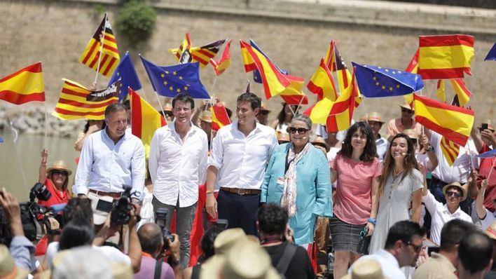 Ciudadanos presenta en Palma la plataforma España Ciudadana con Manuel Valls y Joan Mesquida