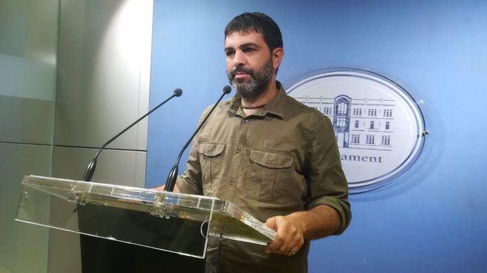 El portavoz de Més per Mallorca, Josep Ferrà