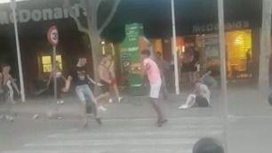 Una nueva pelea en Magaluf se salda con un joven en el suelo noqueado
