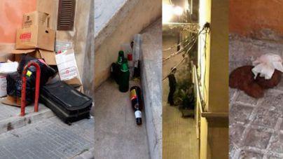 Droga, heces, ruido y robos: los vecinos de Santa Catalina, hartos del incivismo