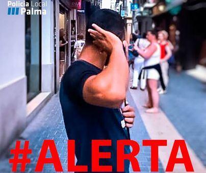 La Policía alerta de un grupo de personas que estafan y roban en Palma haciéndose pasar por sordos