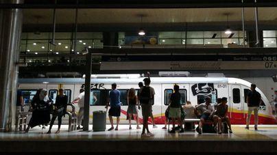 El uso del metro de Palma crece un 21,4 por ciento y un 1,4 el autobús