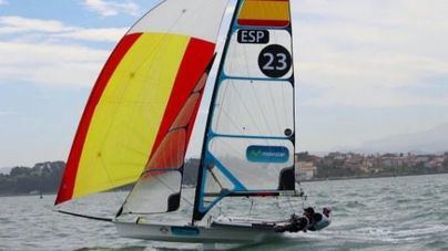 La campeona mundial Paula Barceló regresa a la competición en 49er FX