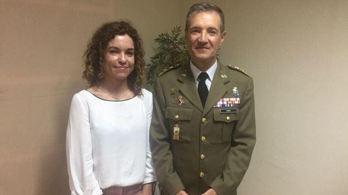 El coronel Jesús Lanza Mollá toma posesión como nuevo delegado de Defensa en Illes Balears